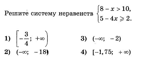 Тесты онлайн математика гиа